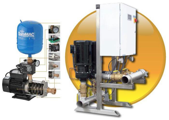 Water Pressure Booster Pump Systems Rock City Machine