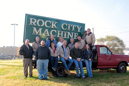 Rock City Machine team